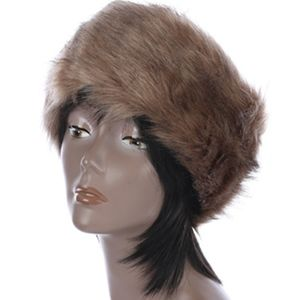 Accessories - OPEN TOP SOFT FUR FASHION  HAT AND CAP